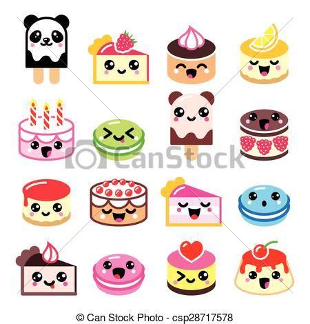 imagenes de helados kawaii illustrations vectoris 233 es de kawaii mignon ic 244 nes