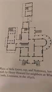 floor plan louisiana nottoway plans