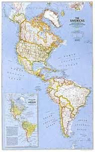 Map Of The Americas by Americas Map