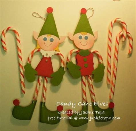 candy cane elves includes pdf and video instructions the
