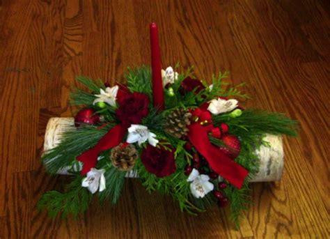 christmas birch centerpiece seabrook floral