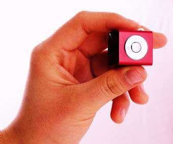Mobiblus New Cube Shaped Media Player by A Sugar Cube Sized Competitor To Ipod