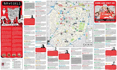 belgium tourist map brussels tourist map for new zone