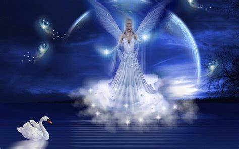 Wallpaper Background Angels | beautiful fantasy angels wallpapers 1440x900