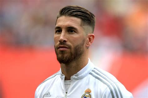 the sergio ramos hairstyle gentleman project