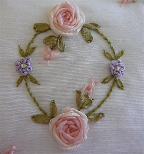 embroidery tutorial silk ribbon embroidery tutorial spider web baby