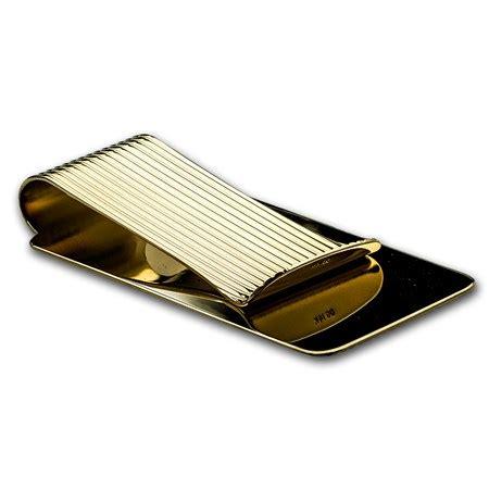 Gold Money Money Money Clip 14k gold money clip textured gold money apmex