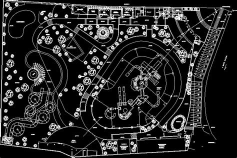 House Plans With Indoor Pools water park 2d dwg design plan for autocad designs cad
