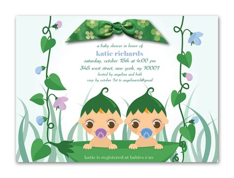 baby shower invitations templates for twins twin baby shower invitations dolanpedia invitations ideas