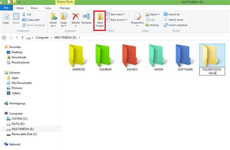 cara membuat folder di blog wordpress cara cepat membuat folder baru di windows 8 idi suwardi