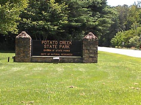 Potato Creek State Park Cabin Rentals stairs on the trail picture of potato creek state park liberty tripadvisor
