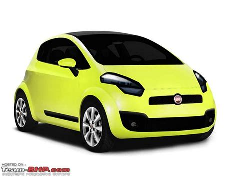 small fiats fiat s small car fiat mio unveiled team bhp