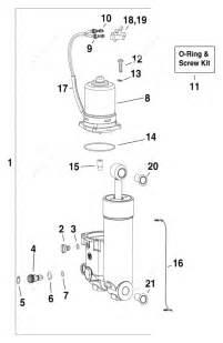 Evinrude 2007 50 E50dplsum Trim Amp Tilt Hydraulic