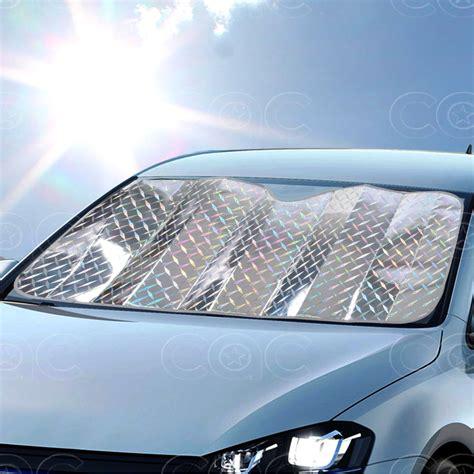 best car window shades jumbo 1pc diamond laser sun shade front windshield auto