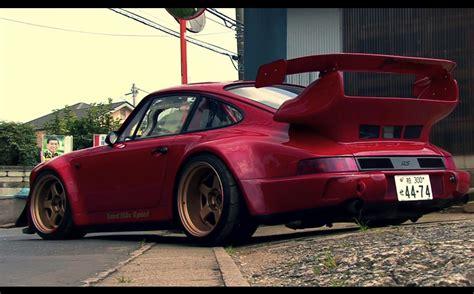 porsche 964 rwb 964 porsche 911 rwb