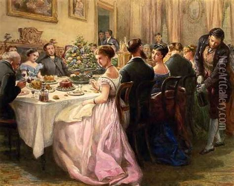 dinner painting the dinner painting reproduction by sir henry