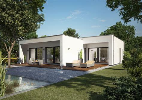 okal haus stellt moderne flachdach bungalows vor okal - Bungalow Flachdach