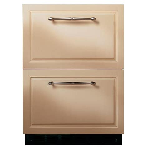 Panel Ready Refrigerator Drawers by Oooh I This 5 Cu Ft Drawer Refrigerator