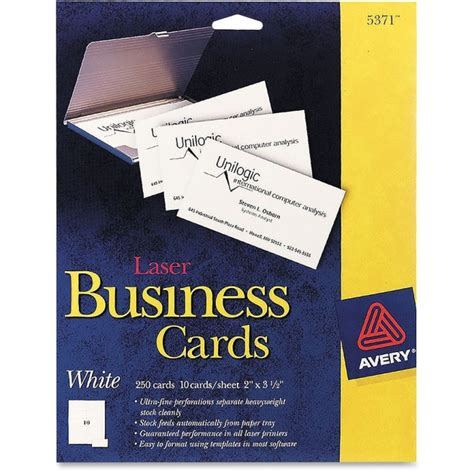 avery 2 x 3 5 business card template avery 5371 business card for laser print a8 2 quot x 3 50