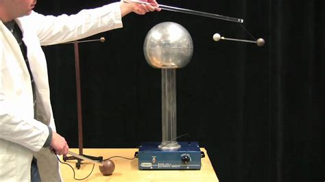 mit physics demo inducing dipoles with a de graaff