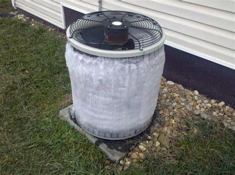 air conditioner freezing  repair