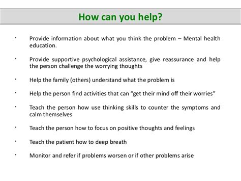how to help a with anxiety anxiety disorders what school counsellors need to