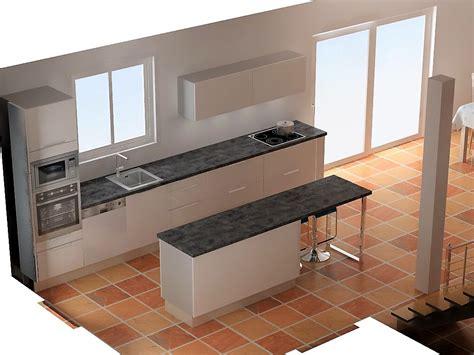 entr馥 cuisine distance entre ilot central et meuble imahoe com
