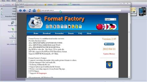 format factory youtube descargate format factory 2 95 en espa 241 ol mediafire o