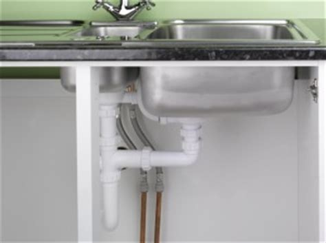 installed sink drain basket from underneath image of