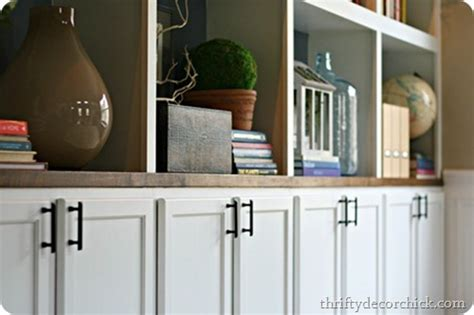 base cabinets for built ins dining room pretty organization from thrifty decor