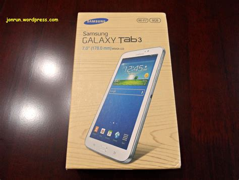 Samsung Galaxy Tab 1 7inch galaxy tab 3 0 review jon run