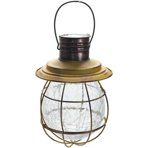 hanging lantern solar lights hanging solar lantern with 6 led string light yellow