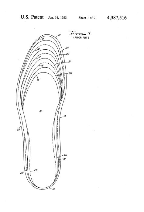 patent us4387516 universal insole google patents