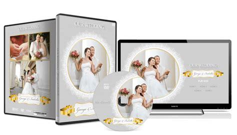 wedding dvd layout wedding dvd cover 048 photoshop psd template