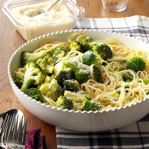 side dishes recipes broccoli pasta side dish recipe taste of home
