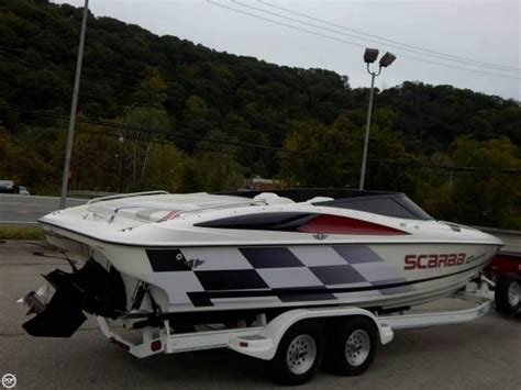 wellcraft performance boats 1996 used wellcraft scarab 26 high performance boat for