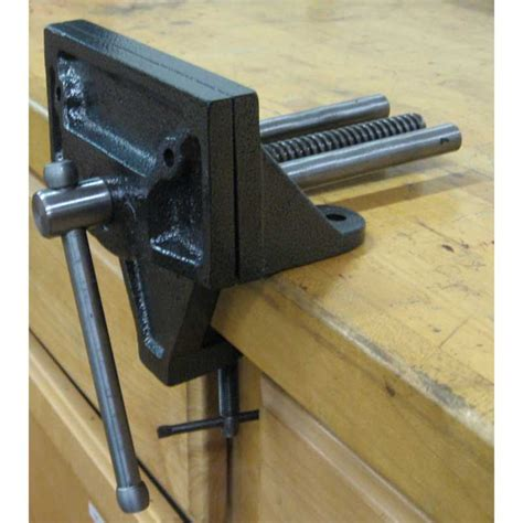 work bench with vice woodworking bench vise screw discover woodworking projects