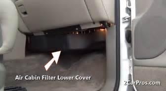 cabin air filter location 2009 silverado cabin get free