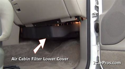 2011 Tahoe Cabin Air Filter by How To Change A Cabin Air Filter In 15 Minutes