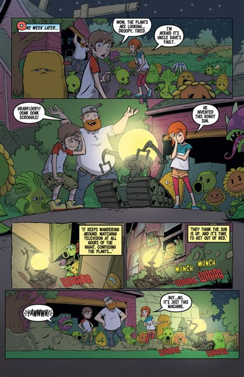 plants vs zombies volume 4 grown sweet home comic book review plants vs zombies grown sweet home