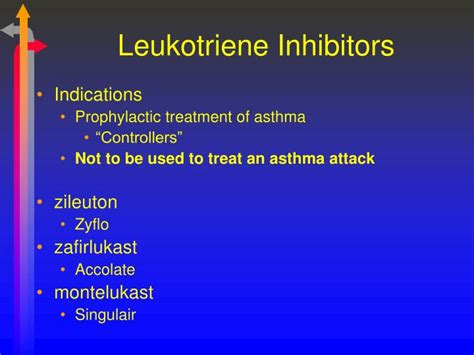 How Does It Take To Detox From Singulair by Ppt Anti Inflammatory And Anti Asthmatic Agents