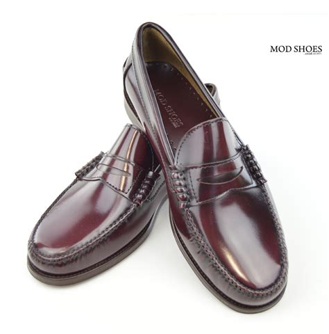 the loafer oxblood loafers the earl by modshoes mod shoes