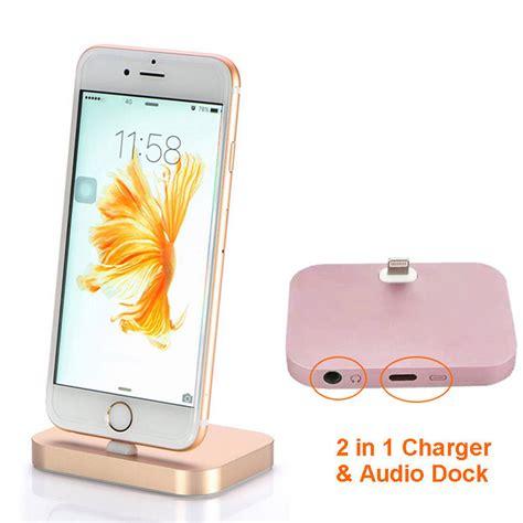 Charging Dock 3 5mm Audio Iphone 7 8 Black Hitam Charging Dock With 3 5mm Audio For Iphone 7 8 Black