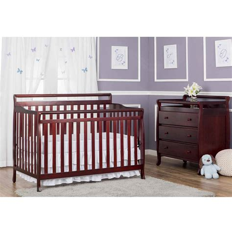 Broyhill Convertible Crib Broyhill Messina 4 In 1 Convertible Crib Choose Your Finish Walmart