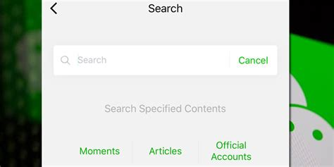 Wechat Search Wechat Search Function Expansion And What May Be Coming Next