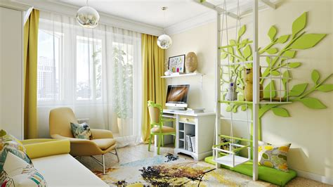 cool kids rooms bright and colorful room designs with whimsical artistic features
