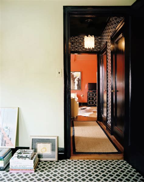 gold wallpaper hallway hallway photos 120 of 444 lonny