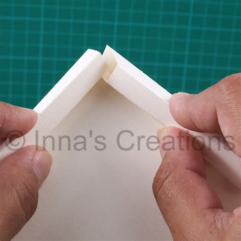 How To Make Paper Photo Frames - inna s creations how to make a simple paper frame