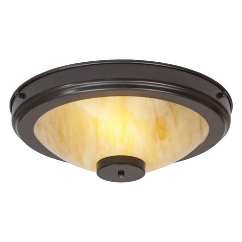 Artistic Ceiling Lights Flush Ftitting Deco Circular Ceiling Light With Marbled Glass