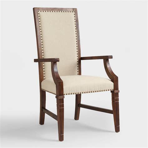rustic java greyson armchair set of 2 world market